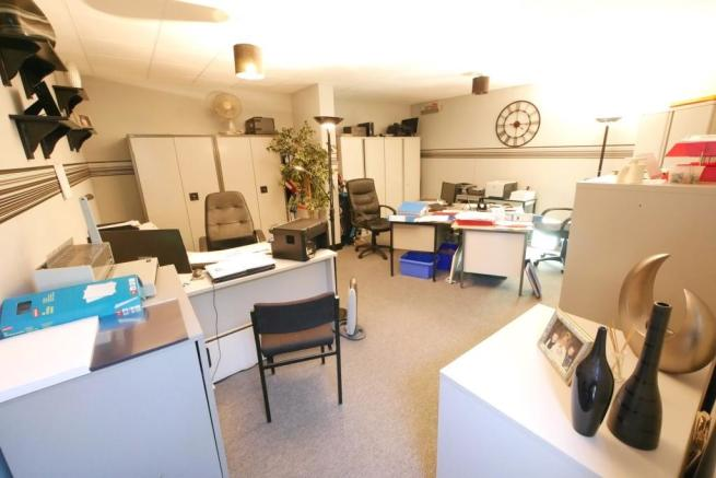 Garage office