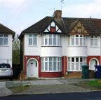 semi detached property in Hampden Way, Southgate...