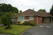 Detached Bungalow to rent in HULTON CLOSE, CONGLETON
