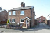 2 bed semi detached property in Brook Road, Tarporley...