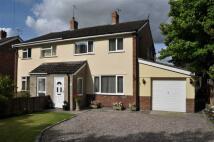 semi detached house in Back Lane, Duddon...