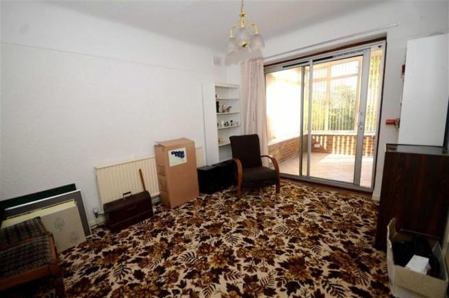 Rear Bedroom Two/Din