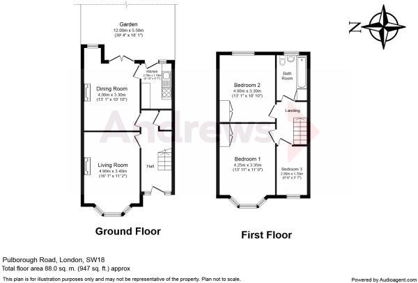 correct floorplan