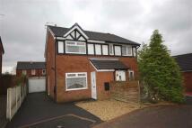 semi detached house in Belgrave Close, Blackburn
