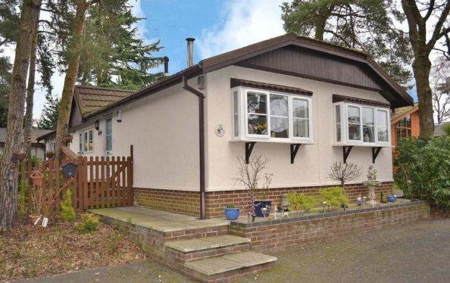 2 Bedroom Mobile Home For Sale In Tall Trees Park Matchams Lane