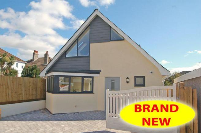 3 bedroom detached bungalow for sale in stylish brand new for Chalet style bungalow images