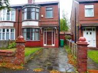 3 bed semi detached home in Kingsway, Burnage