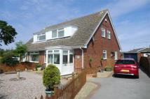 3 bedroom semi detached home for sale in Miles Lane, Leconfield...
