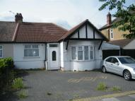 Semi-Detached Bungalow in Redbridge Lane East...