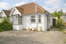 Bungalow in Chepstow Crescent...