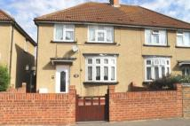 Westbourne Road semi detached house to rent