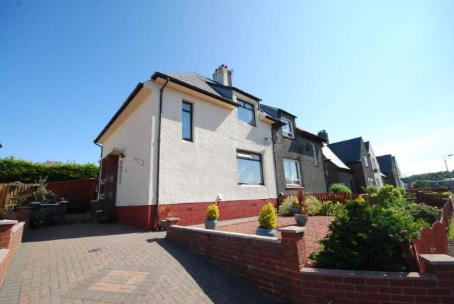 3 bedroom semi detached house for sale in chalmers avenue for 17 eglinton terrace ayr