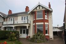 semi detached house in Church Drive, Rhos on Sea