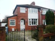 3 bed semi detached home in Nursery Road, Davyhulme...