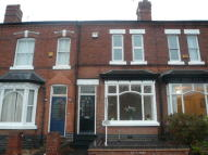 Terraced house in Wood Lane, Harborne...