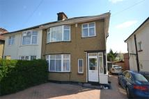 semi detached home to rent in Sudbury Avenue...