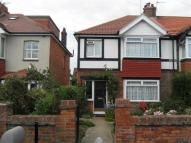 3 bed semi detached property in Meadow Road, Worthing