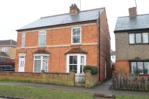 semi detached house in Market Road, Thrapston...
