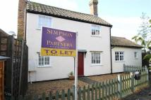 3 bedroom Cottage to rent in High Street, Catworth
