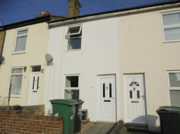 2 Bedroom Terraced House To Rent In WESTERN ROAD Maidstone Kent ME16 ME16