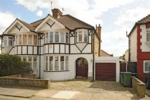 semi detached property in Sonia Gardens, London...