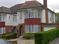 semi detached home to rent in Fernside Avenue...