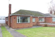 Semi-Detached Bungalow in Sandfield Drive, Brough...