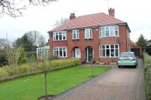 semi detached property in Beverley Road...
