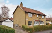 2 bedroom semi detached home in Burrelton Road, Merrylee...