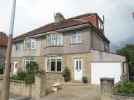 semi detached house for sale in Grasmere Road, Bare...