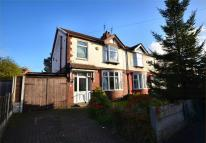 semi detached house for sale in Burnham Drive, Burnage