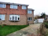 semi detached property for sale in Holland Road, Kippax...