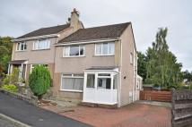 3 bed semi detached property in Brown Avenue, Dumbarton...