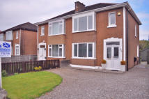 semi detached property for sale in Glasgow Road, Dumbarton...