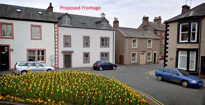 Proposed Frontage