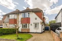 4 bed semi detached house for sale in Kneller Road, New Malden...