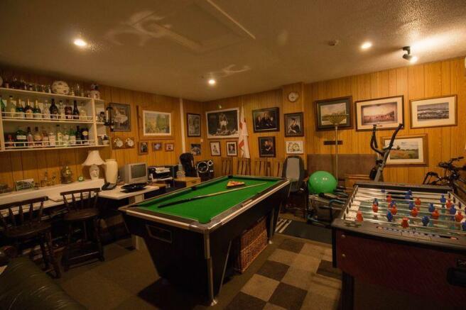 Games Room/Garage