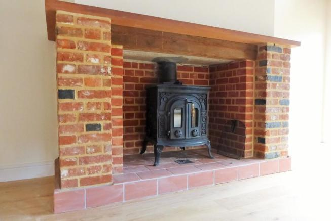 Fireplace with wo...