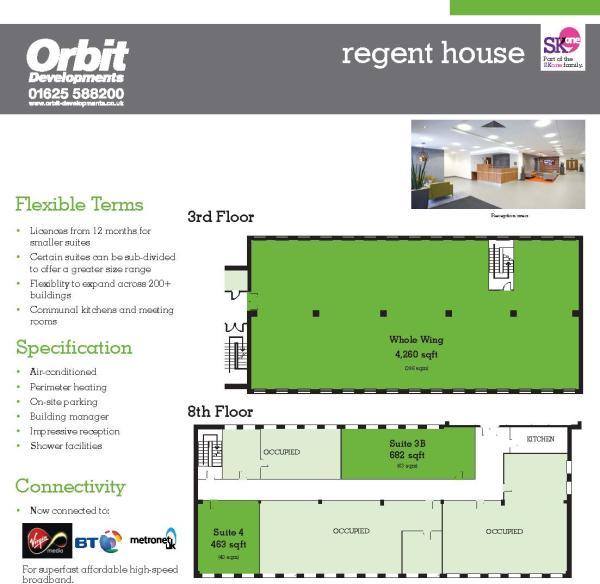 Regent 8th Floor