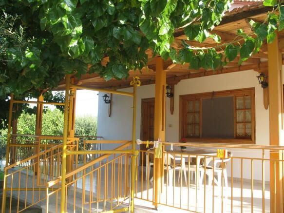 View of veranda