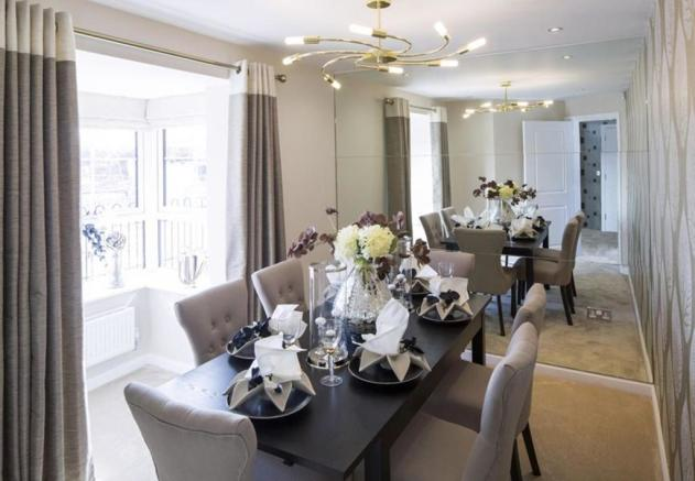 Typical Faringdon dining room