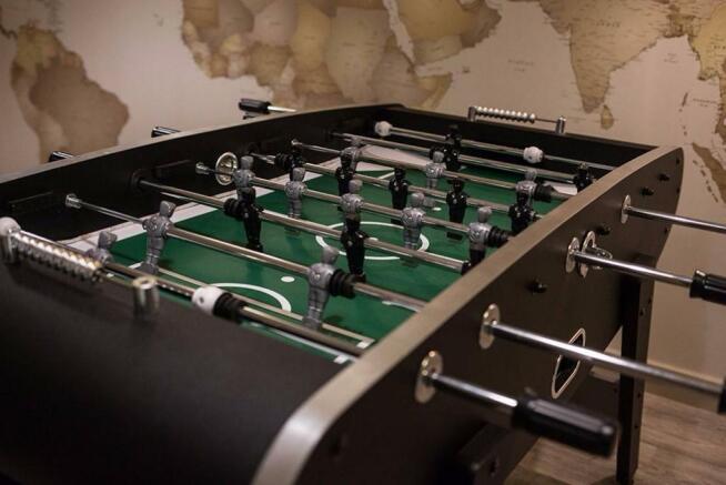 Spacious games area