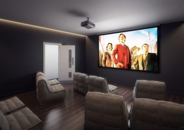 In-house cinema