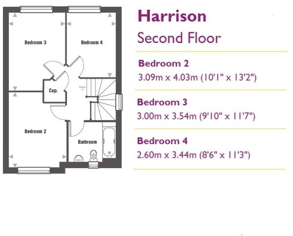 Floorplan - Secon...