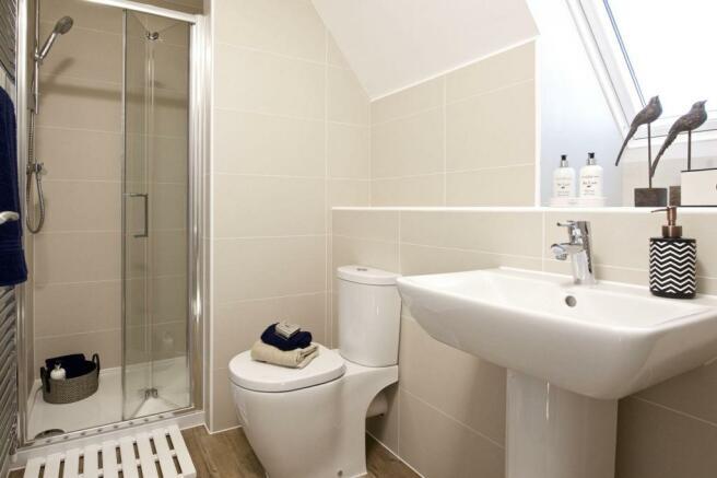 Emerson shower room