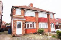 3 bed semi detached property in Orchard Grove, Edgware...