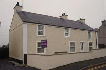 Detached home for sale in High Street, Bryngwran...