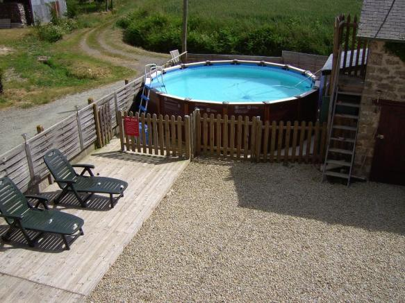 POOL from upstairs