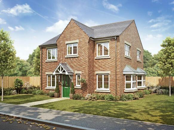 4 bedroom detached house for sale in maple oak homes dean lane spennymoor dl16 6je dl16