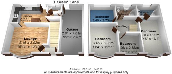 1 green lane floor p